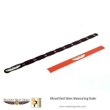 Blood Red Skies Measuring Ruler