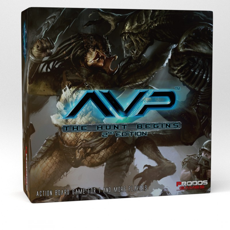 AvP: The Hunt Begins - Desková hra (2nd edition)