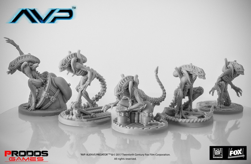 AVP Alien Warriors UniCast