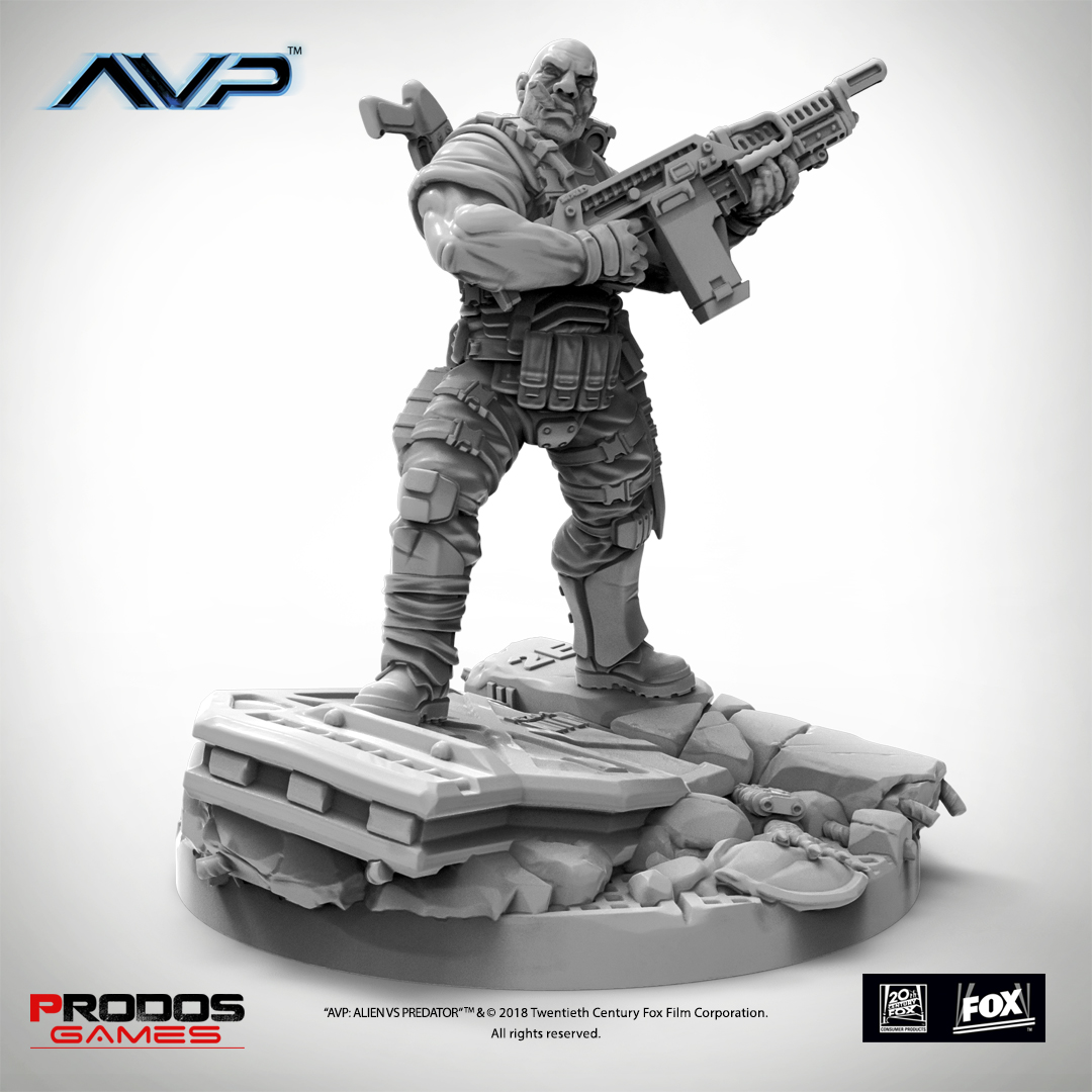 AVP USCM Officer Set