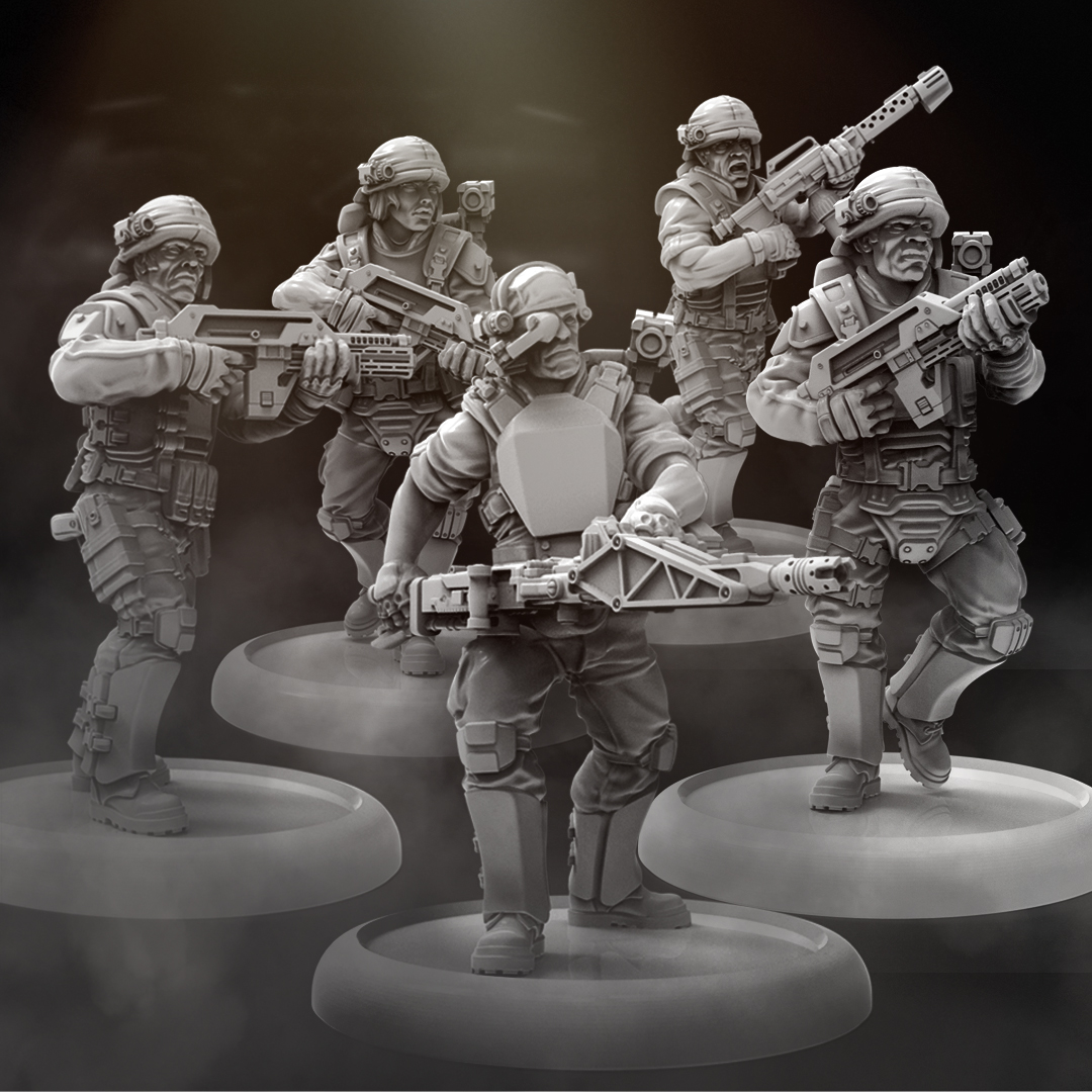 AVP USCM multipart marines