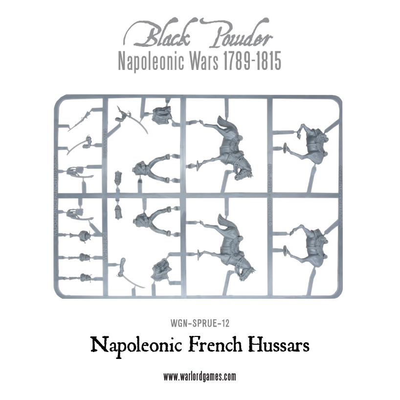 French Hussars Sprue