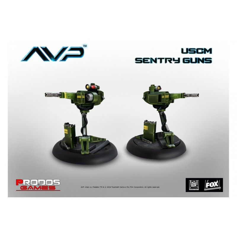 AVP USCM Sentry Guns